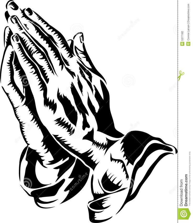 Scripture clipart praying hand #5