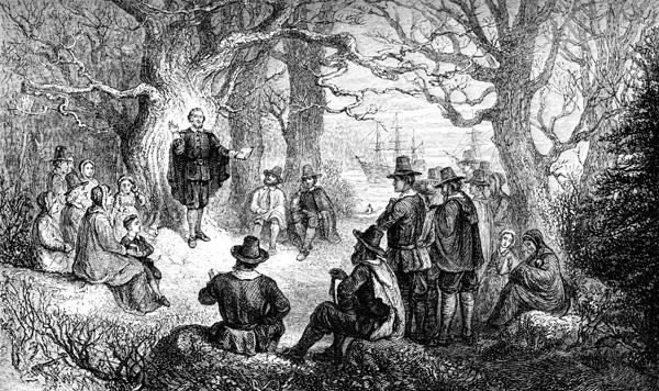Religion clipart puritans Life Puritan