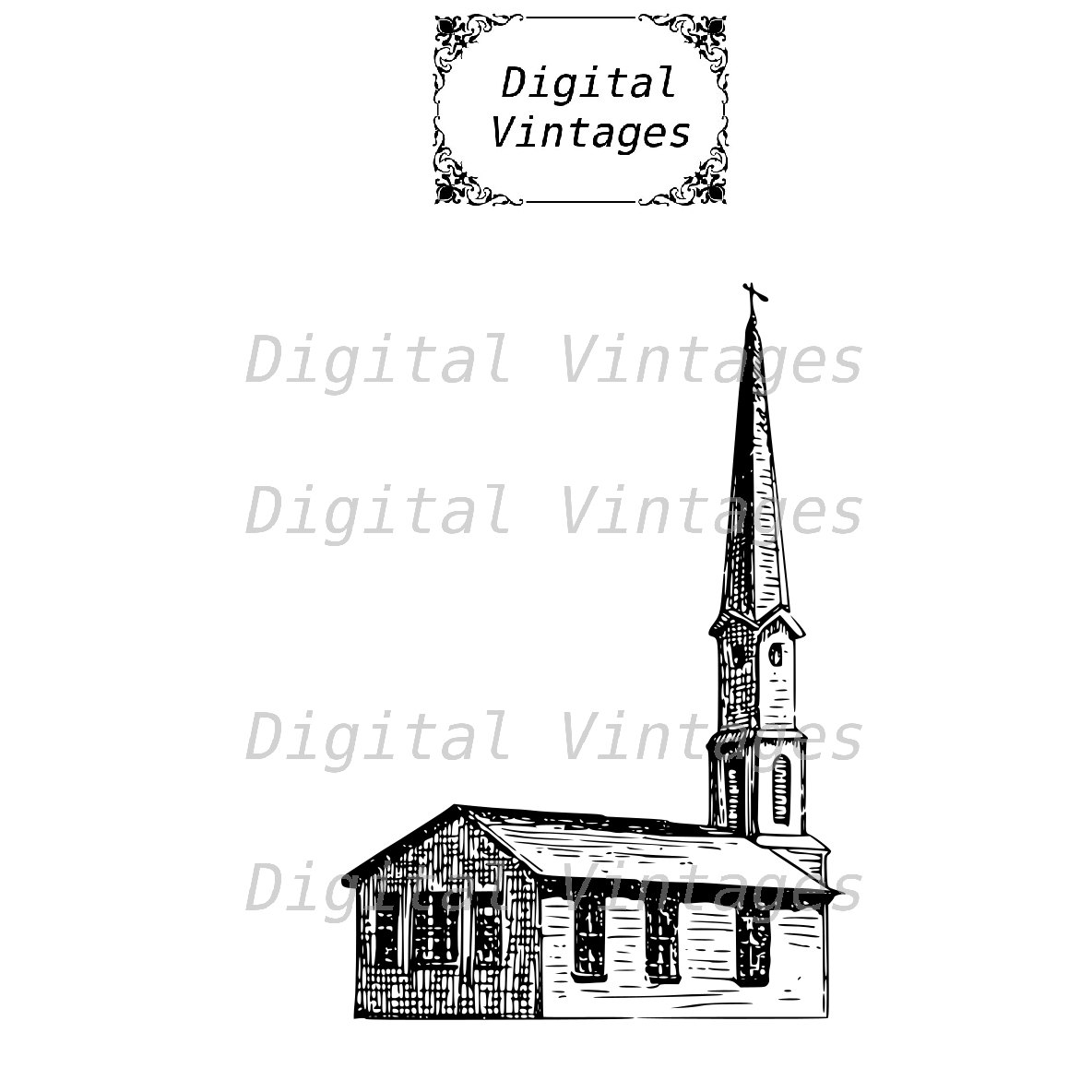 Religion clipart small church Church digital This Digital New