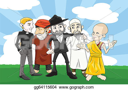 Religion clipart various Clipart A Vector Art hands