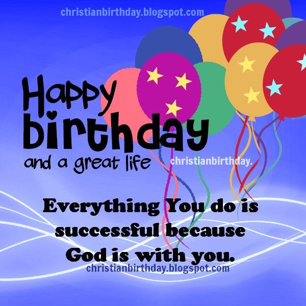 Religious clipart birthday Life Birthday Christian long Happy