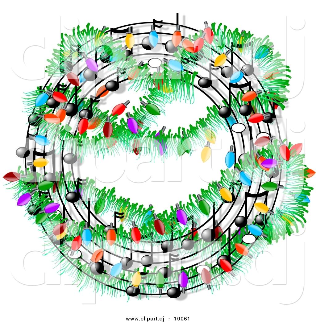 Religious clipart christmas music #2