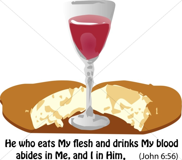 Bread clipart blood With Images Clipart Communion Sharefaith