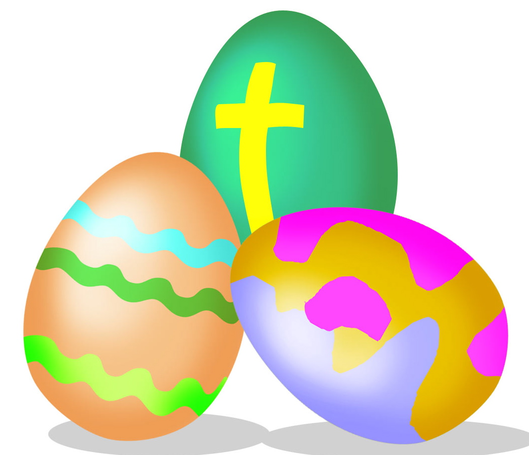 See clipart easter egg hunt #3