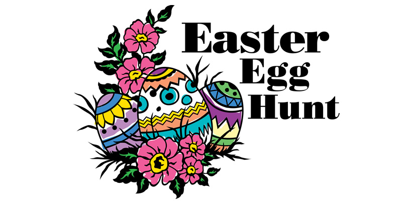 See clipart easter egg hunt #6