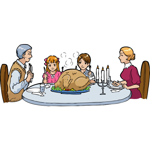 Religious clipart family dinner Panda Clipart Images Clipart Clipart