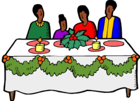 Religious clipart family dinner Dinner eating dinner 3 collection