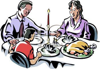 Religious clipart family dinner Prayer Images Clipart Family church%20family%20clipart