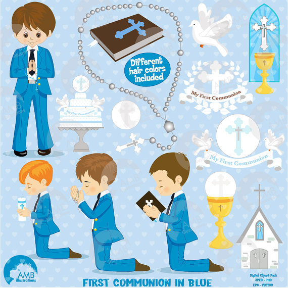 Religious clipart first communion #7