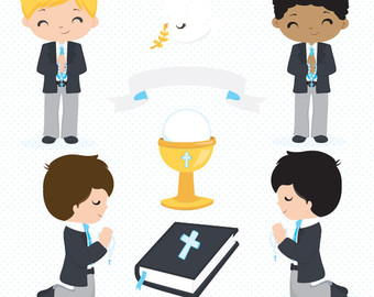 Religious clipart first communion #8