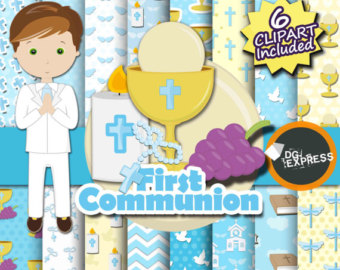 Religious clipart first communion #10