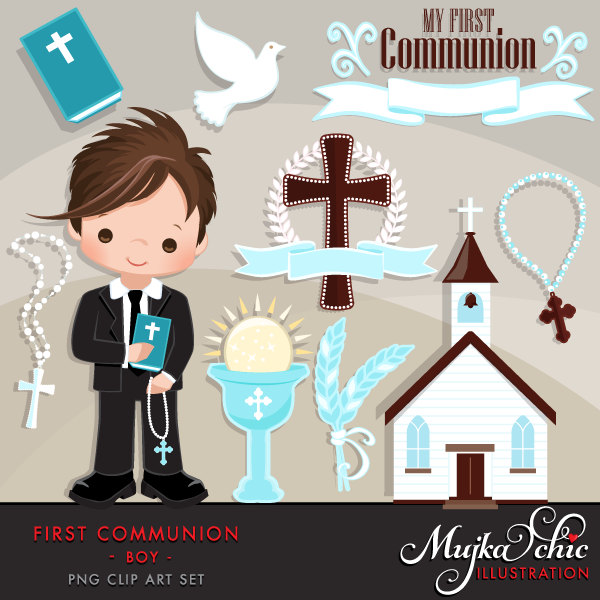 Religious clipart first communion #11