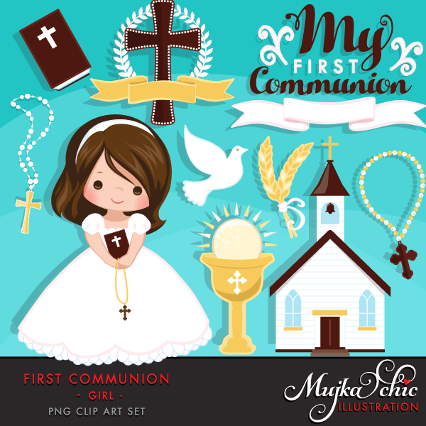 Religious clipart first communion #5