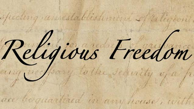 Religion clipart freedom religion #15