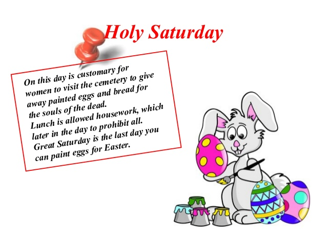 Religious clipart holy saturday Pagan elements in Christian easter