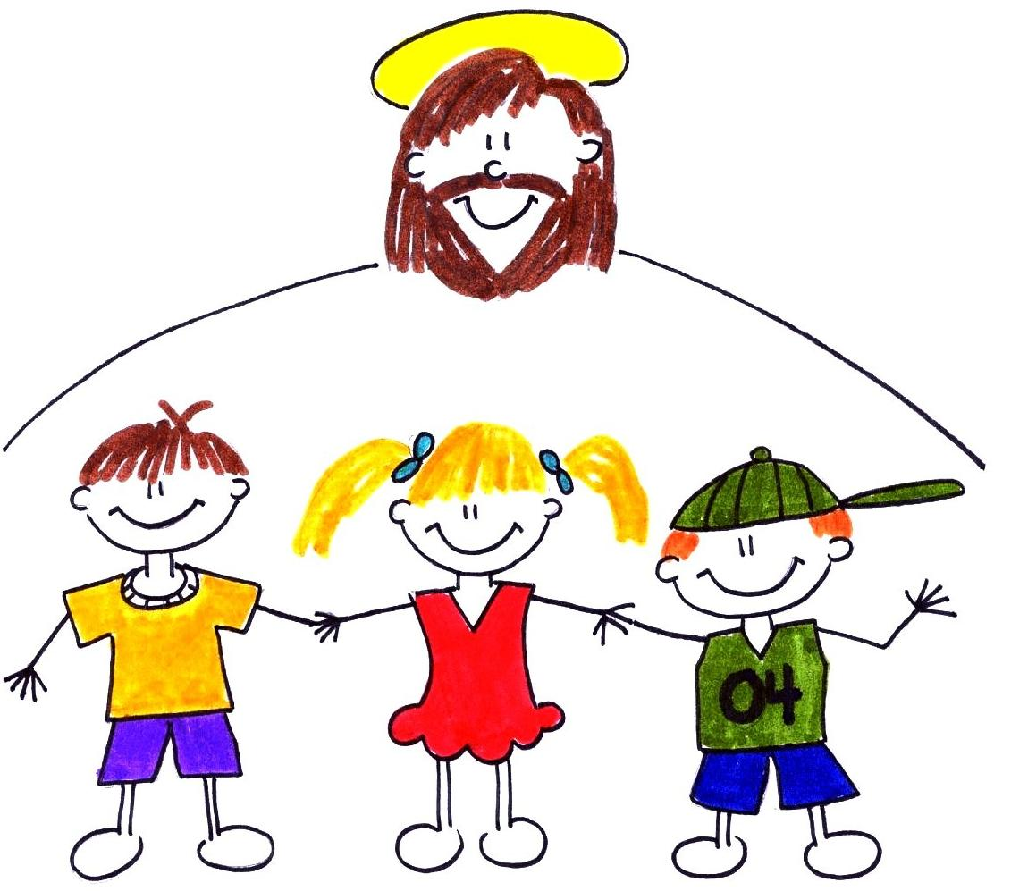 Religion clipart child church #13