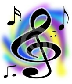 Religious clipart musical  Notes Art Singing Church