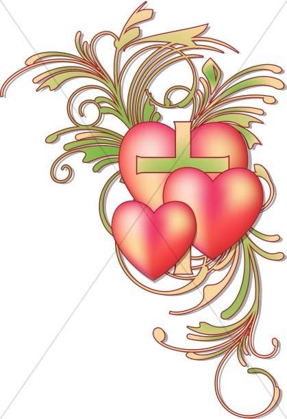 Religious clipart valentine Valentines Day Sharefaith Valentine's Clipart