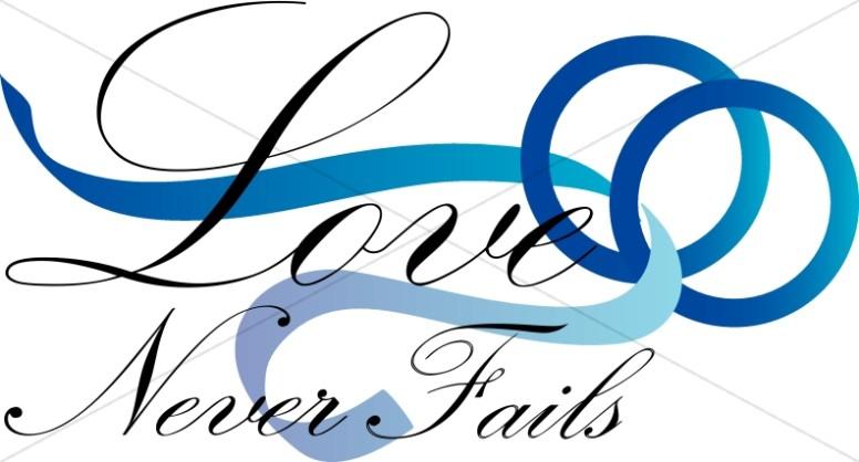 Wedding clipart blue Clipart Christian Fails Wedding Love