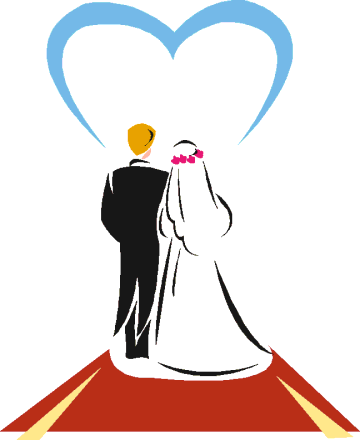 Bride clipart wedding ceremony #2