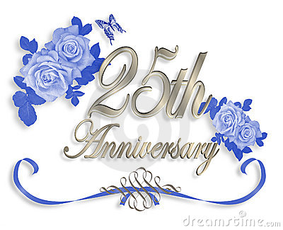Ring clipart 25th wedding anniversary #4