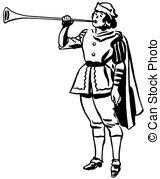 Renaissance clipart royal trumpet Illustrations a version Clip Renaissance