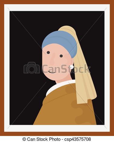 Renaissance clipart boy Oriental renaissance Portrait girl wearing