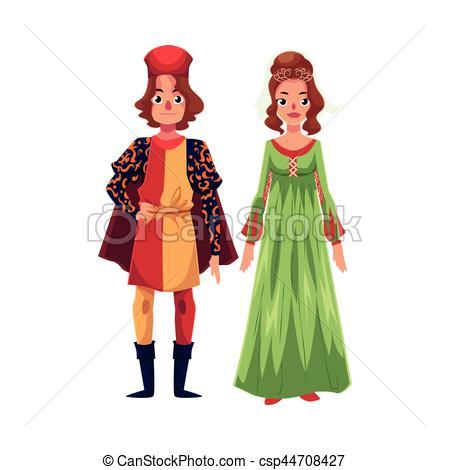 Renaissance clipart boy Costumes Renaissance Woman Free EPS