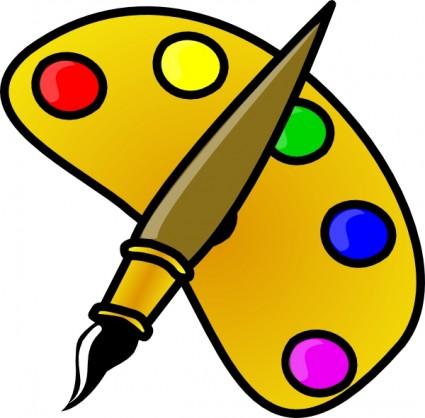 Renaissance clipart cartoon Art Download Painter Color With