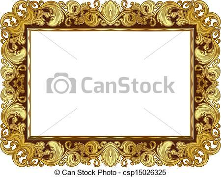 Renaissance clipart frame #1