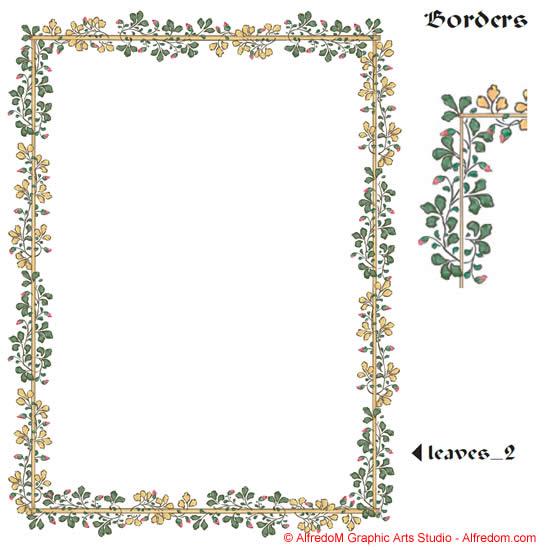 Renaissance clipart frame #4
