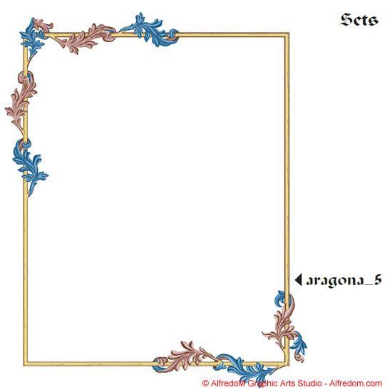 Renaissance clipart frame #10