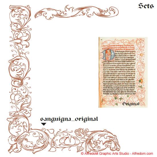 Renaissance clipart frame #14