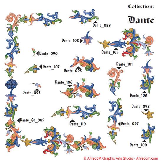 Renaissance clipart frame #15