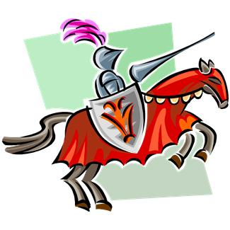 Rennaisance clipart joust  Rockwood Valley Home Middle