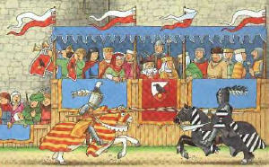 Rennaisance clipart joust & Jousts Ages Tournaments &
