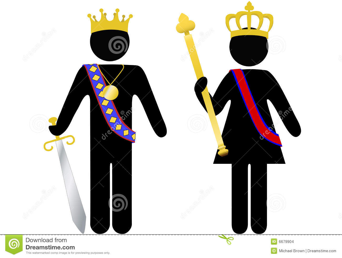 Rennaisance clipart king and queen Clipart And Clipart Images Art