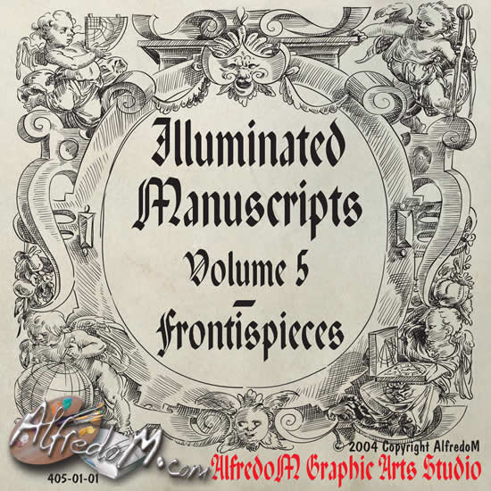 Renaissance clipart middle ages Illuminated front Frontispieces 5 Vol