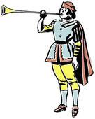 Renaissance clipart royal trumpet #2