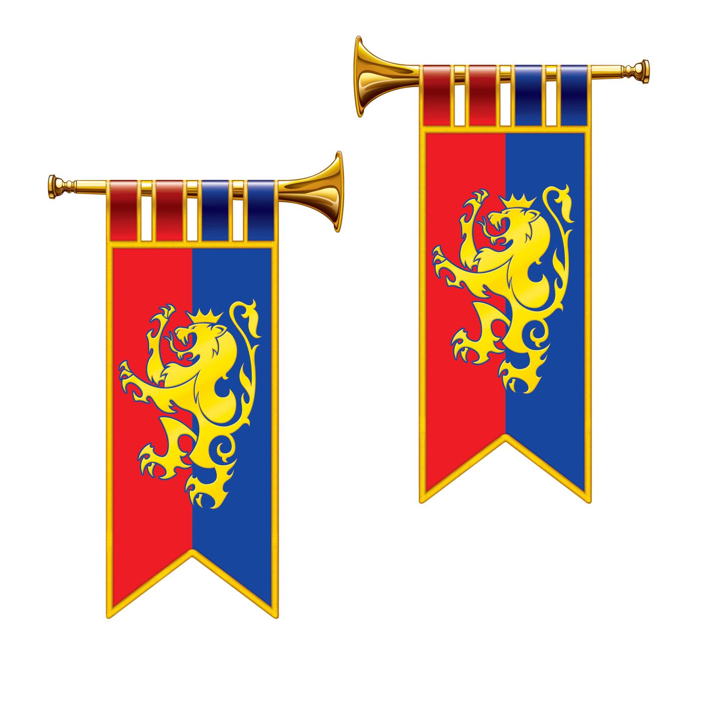 Renaissance clipart royal trumpet #5