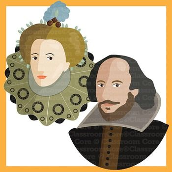 Rennaisance clipart william shakespeare #4