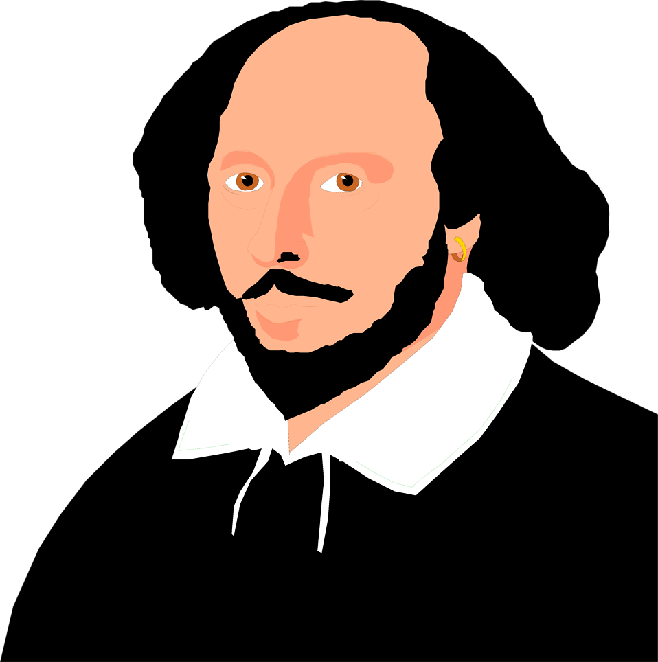Rennaisance clipart william shakespeare #10