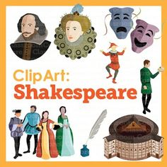 Shakespeare clipart Shakespeare Black And White Collection Renaissance & Shakespeare Core!