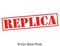 Replica clipart Red  REPLICA Rubber Illustrations
