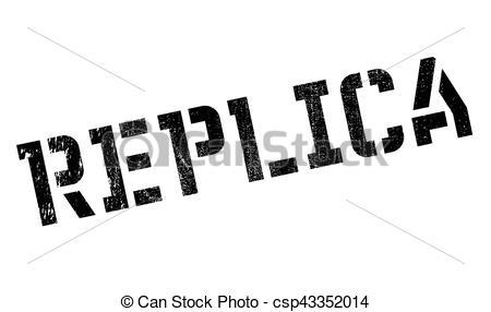 Replica clipart Stamp Replica rubber csp43352014 stamp