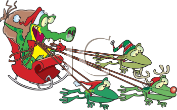 Reptile clipart sketch Cajun Art schliferaward Christmas Clipart