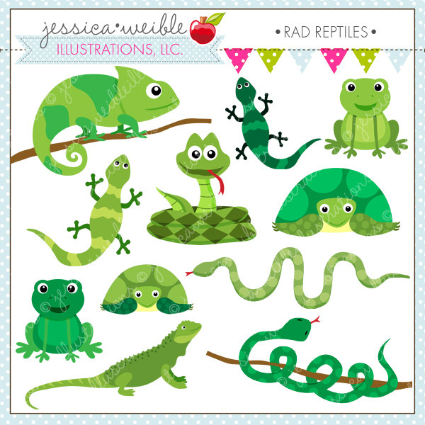 Amphibian clipart organism For Reptiles Digital or Commercial