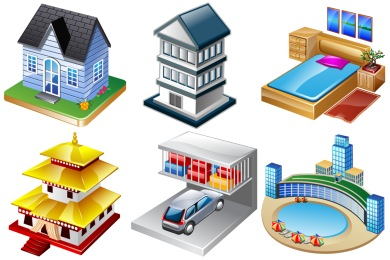 Resort clipart 3d building Free Buildings  by Construction