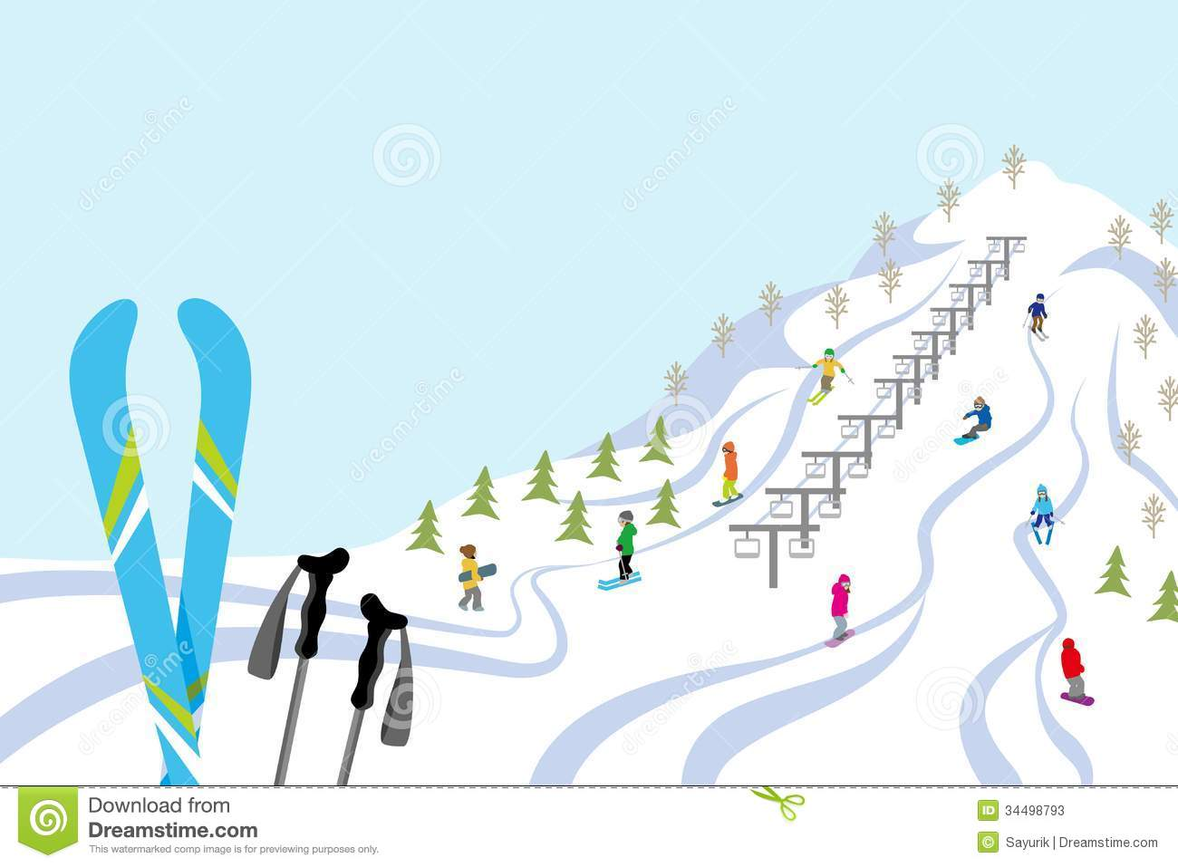 Ski Lodge clipart Resort Ski Download Ski Clipart