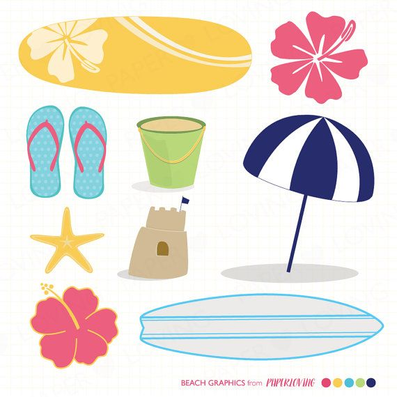 Resort clipart beach theme #5